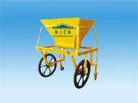 concrete materarial transport car