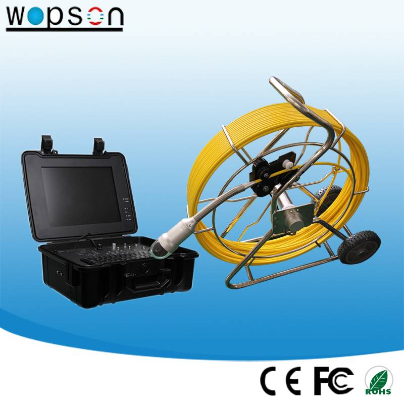 120m Push Rod Cable Camera System for Video Inspection Camera