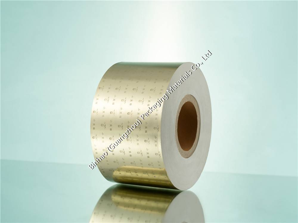 Degradable 114mm Aluminum Laminated Foil Paper with Printed Logo