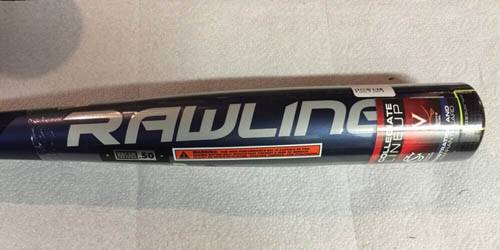 2016 Rawlings VELO 3128 -3 BBRV3 BBCOR Baseball Bat