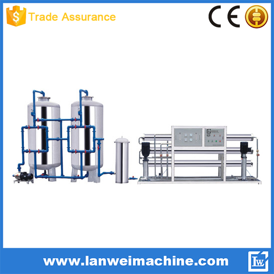 4000L/H RO Reverse Osmosis System Water Treatment Machine