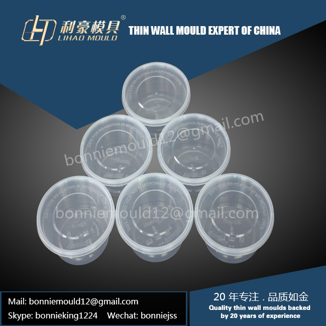 disposable thin wall container die