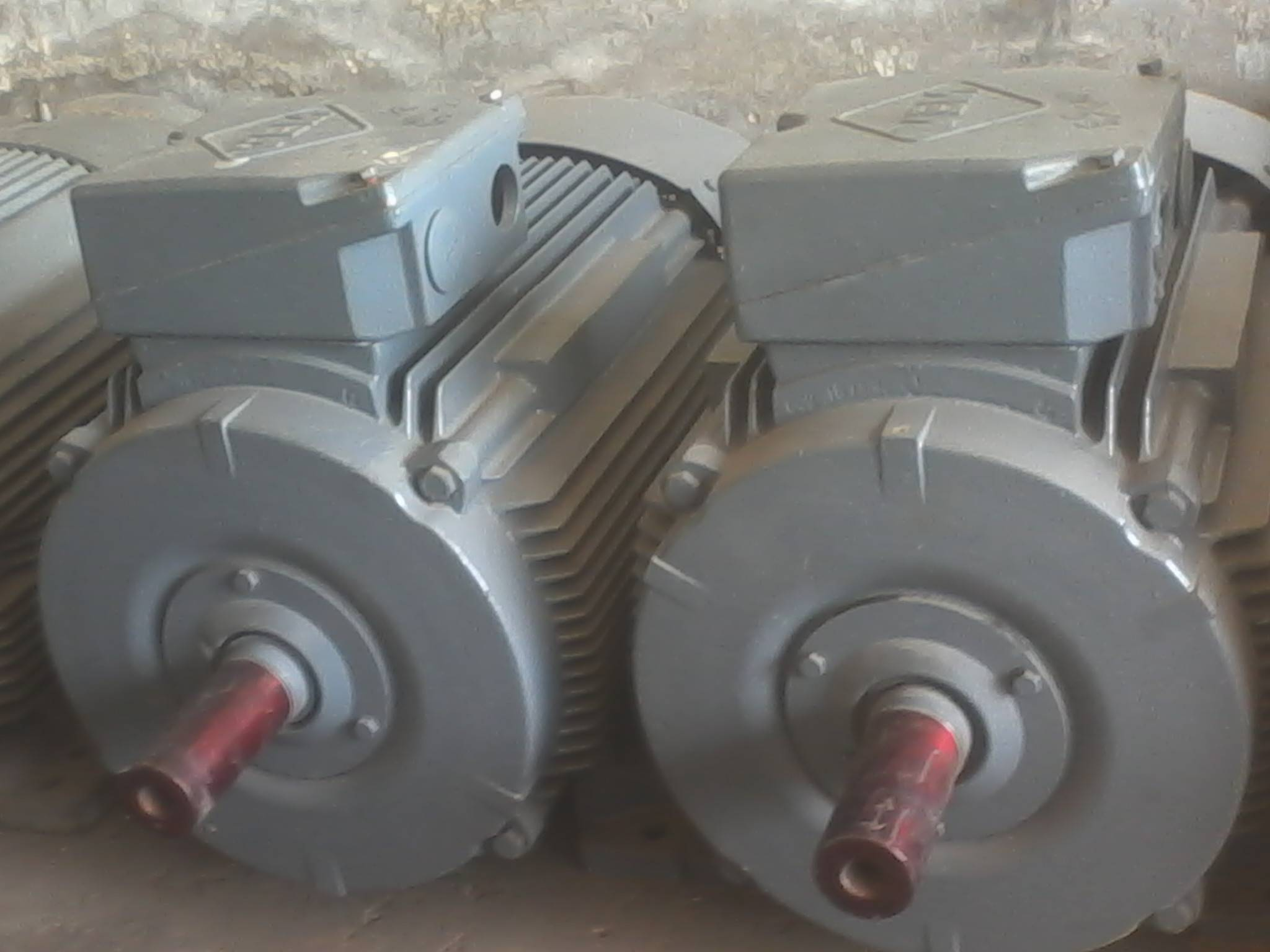 Electric Three Phase Induction Motors.