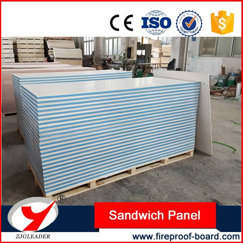 Partition wall fireproof mgo sandwich panel