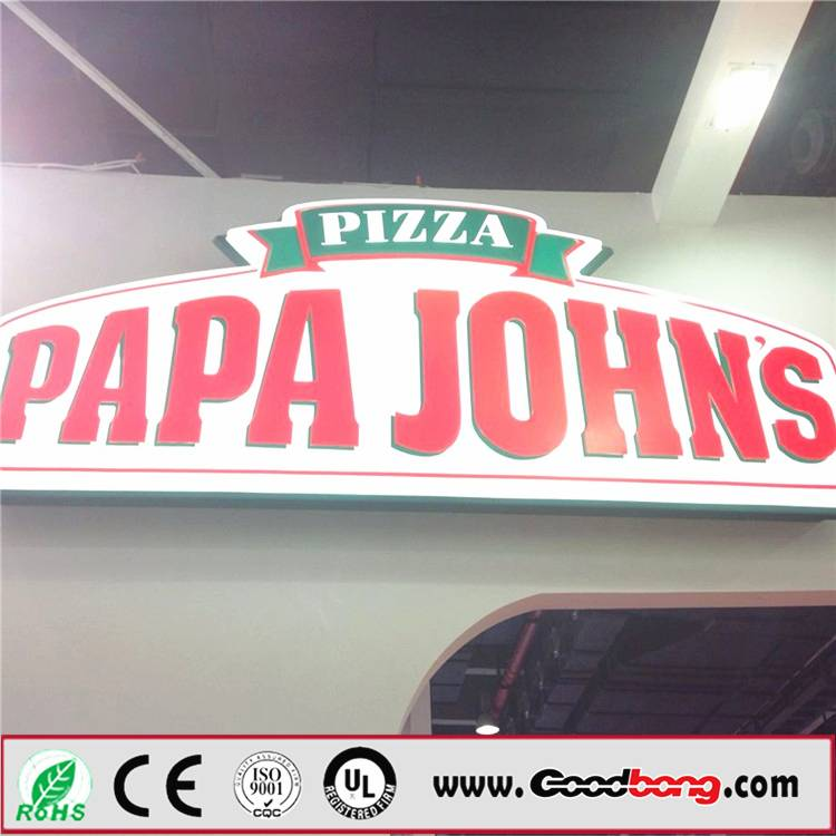 Double Sided Silk Screen LED Illuminated light box