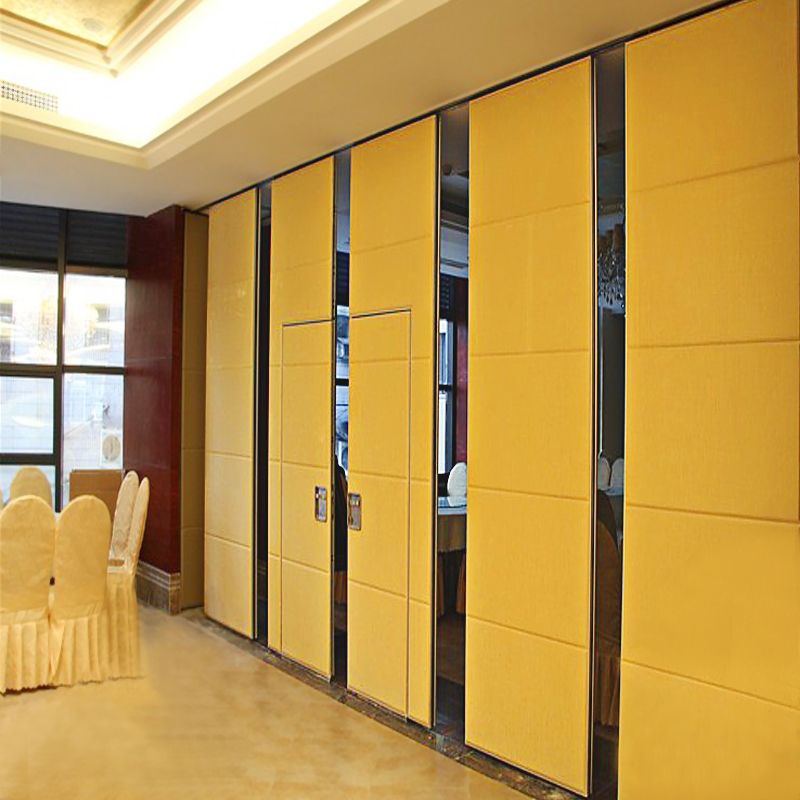 Sliding Aluminium Door Hotel Movable Partition Wall