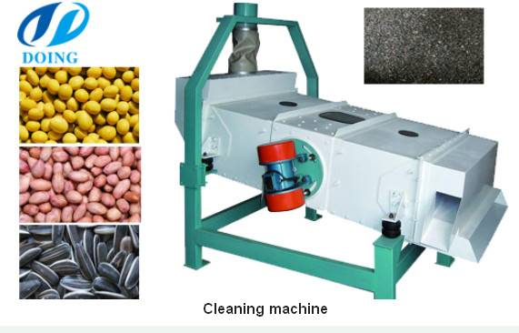 Cooking oil processing machine-oil seed cleaning machine