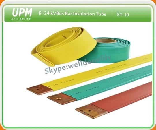 UPM heat shrink S1(n)-10 bus bar heat shrinkable tubing cross freference: Raychem BPTM