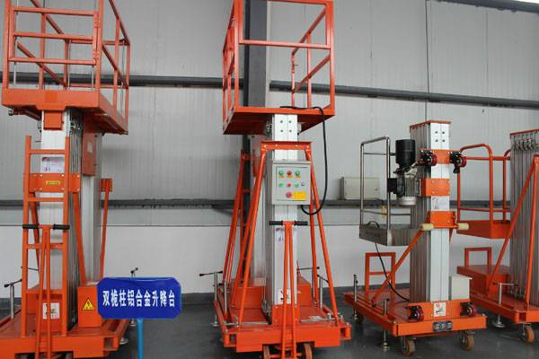 cheap price aluminum lifting platform