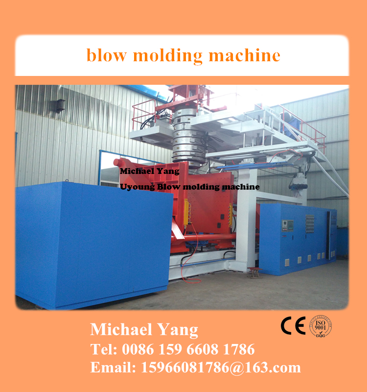 plastic blow molding machines for 1 to 5 layers products