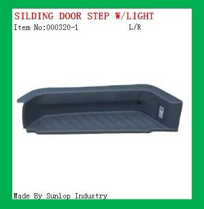 Sliding Door Step with light 000320-1, toyota hiace 2005,2008, 2006, 2007,commuter parts , toyota pa