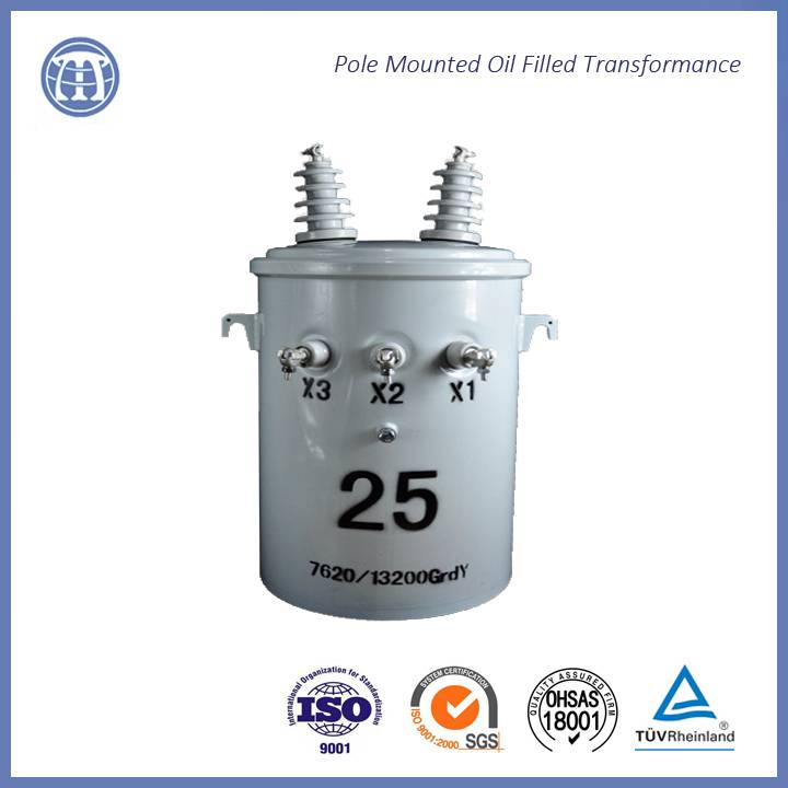 single phase oil immersed distribution transformer