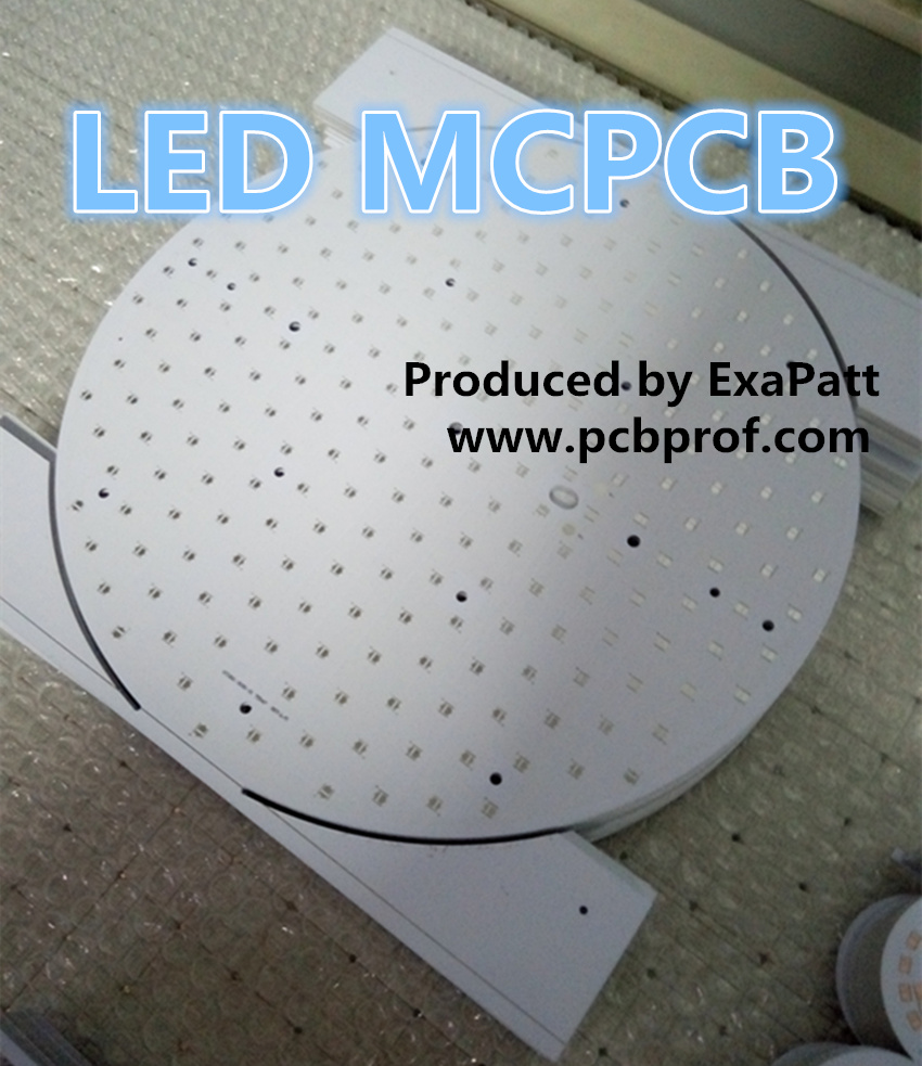 MCPCB, LED PCB, industrial lighting LED PCB