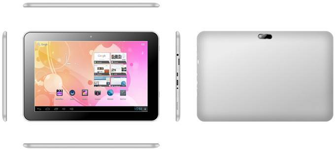 M104R, 10.1 inch wifi-only tablet, Quad-core, 1280*800 IPS, G+G, 1+16G, dual camera 0.3+2.0MP, metal