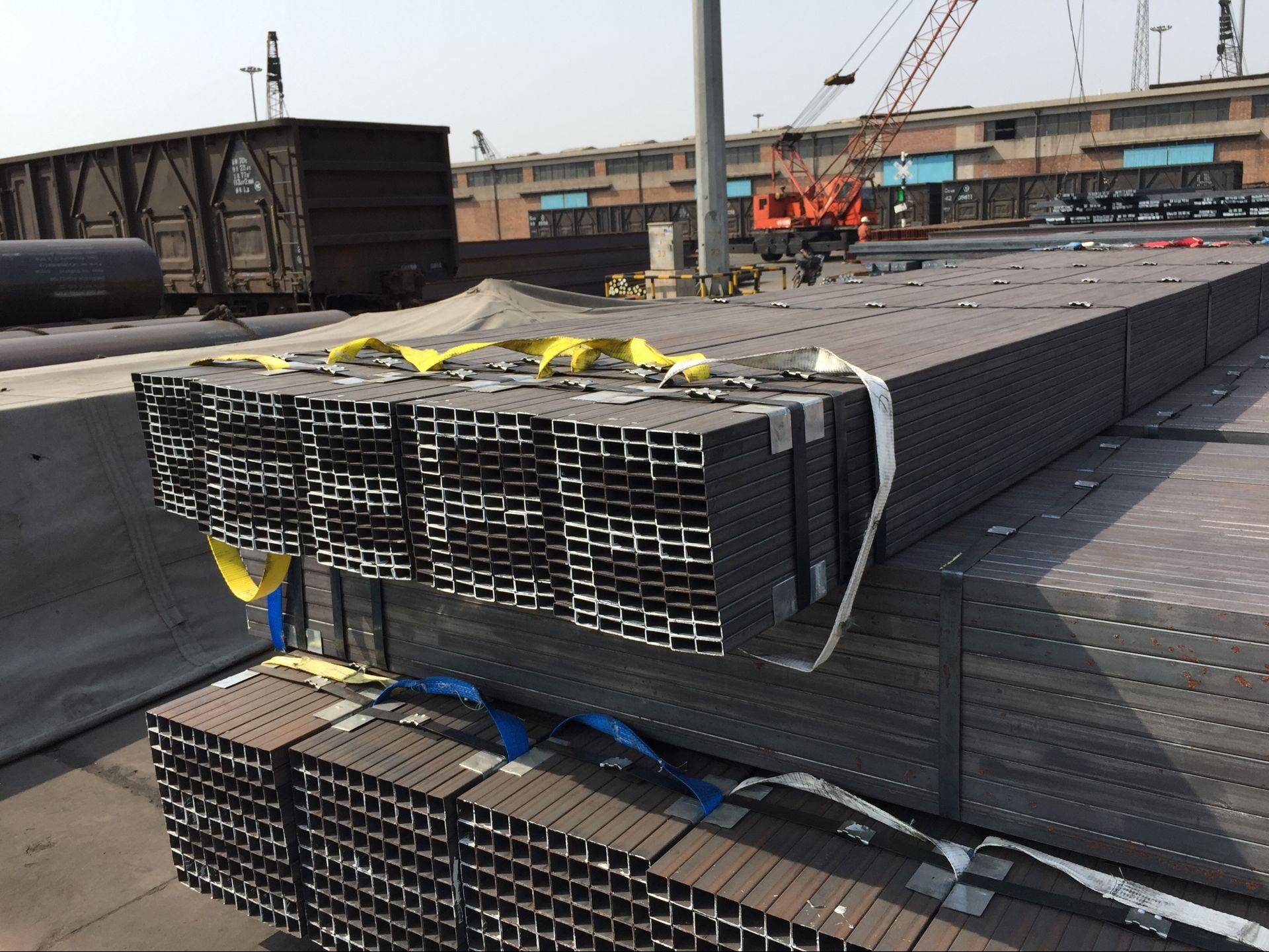 ASTM A500 AB Grade GBT3094 Q235 Q345 Structural Steel Square Pipes