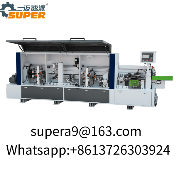 Woodworking Machinery Fully PVC Auto Edge Banding Machine ABS MDF Cabinet Wood Door Edge Bander F465
