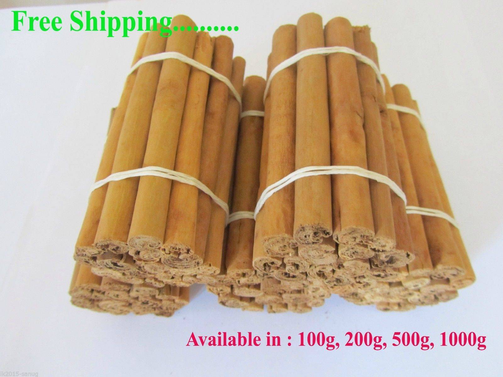 Cinnamon 100g packets lot