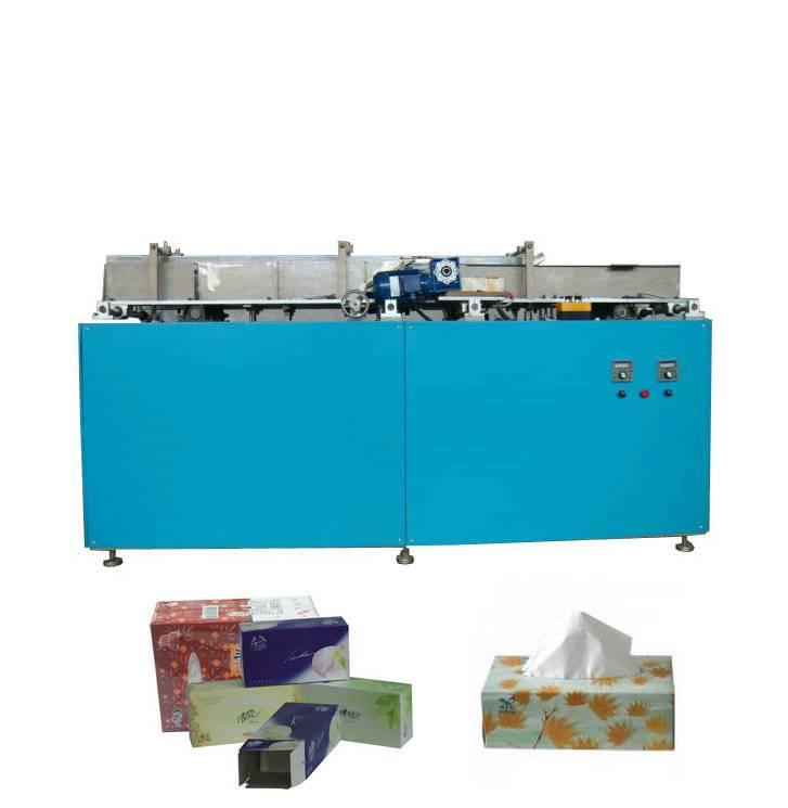 High Speed Facial Tissue Carton Box Sealing Machine