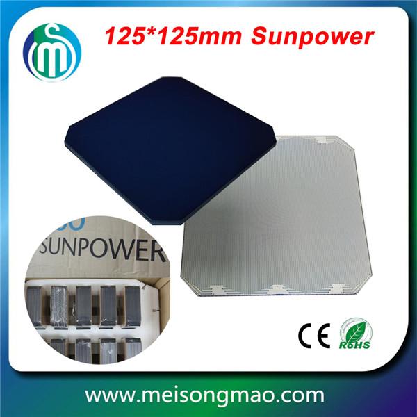 sunpower high efficiency solar cell