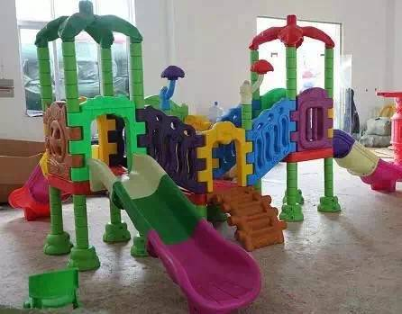 new design plastic playground