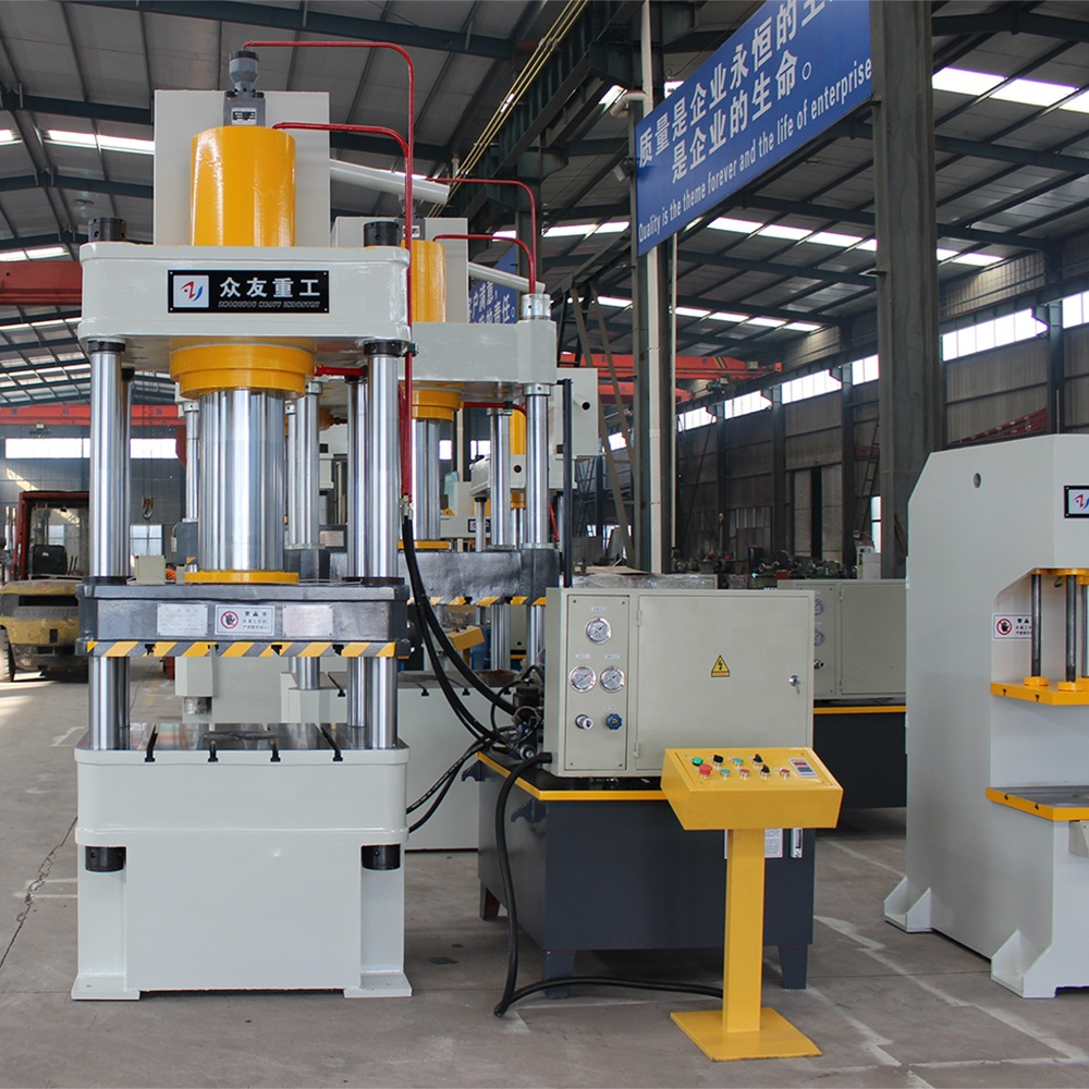200 ton four column hydraulic press machine