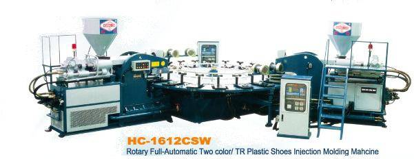 Rotary Full-Automatic Plastic Shoes Injection Molding Machine