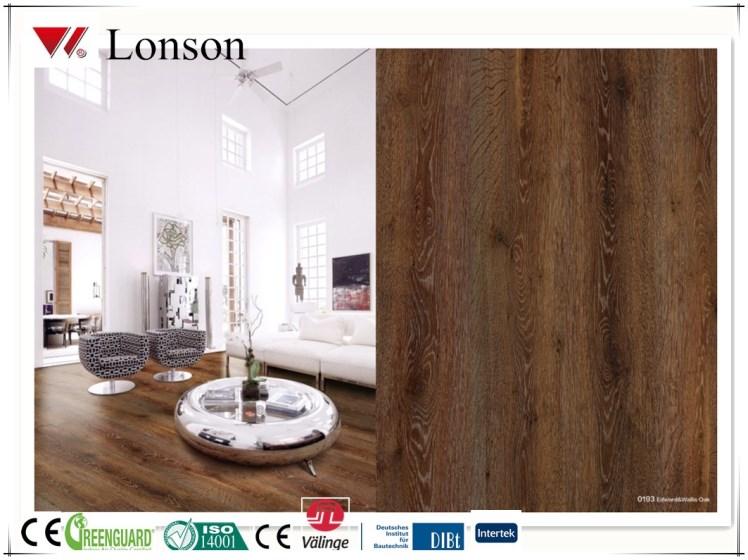Interlocking system non-slip vinyl pvc flooring