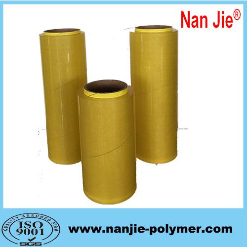 Nan Jie pvc stretch film soft industrial long meter film rolls
