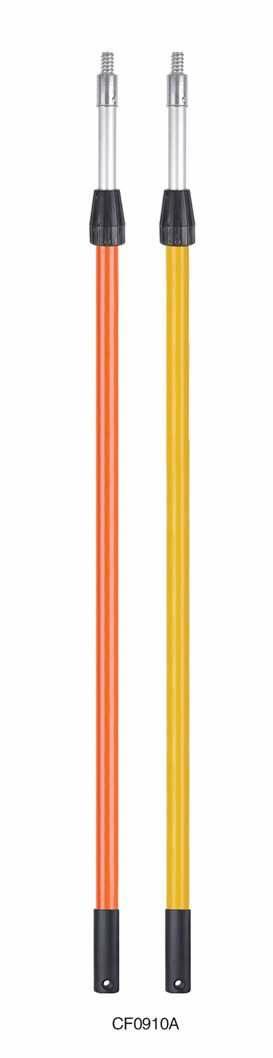 5m long fiberglass/aluminum extension pole (outer twist lock)