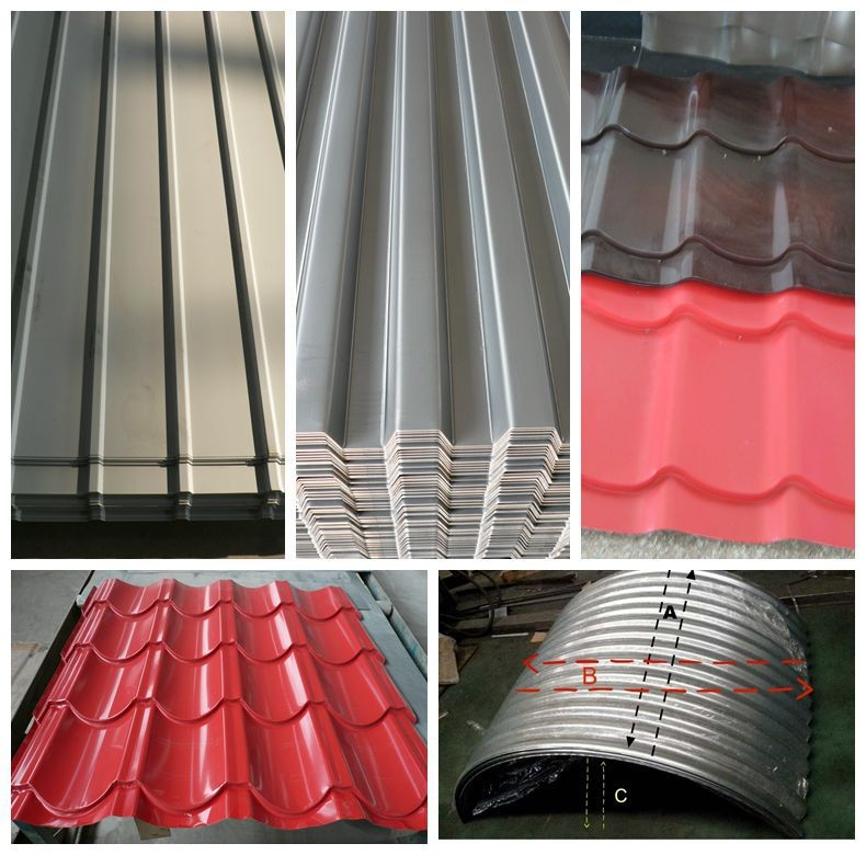 Metal roofing sheet high quality gl Steel Coil For Roofing Sheet