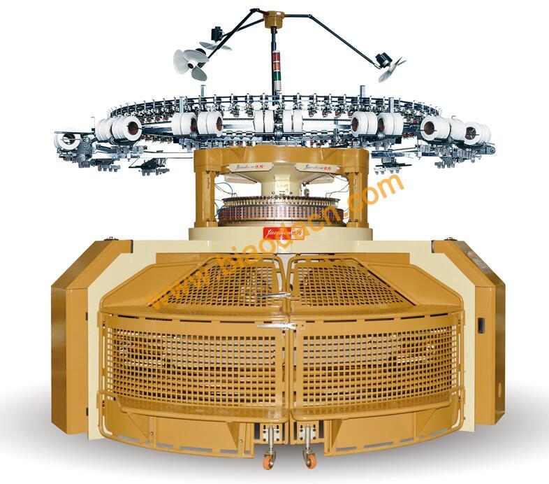 Double Jersey Open Width Circular Knitting Machine