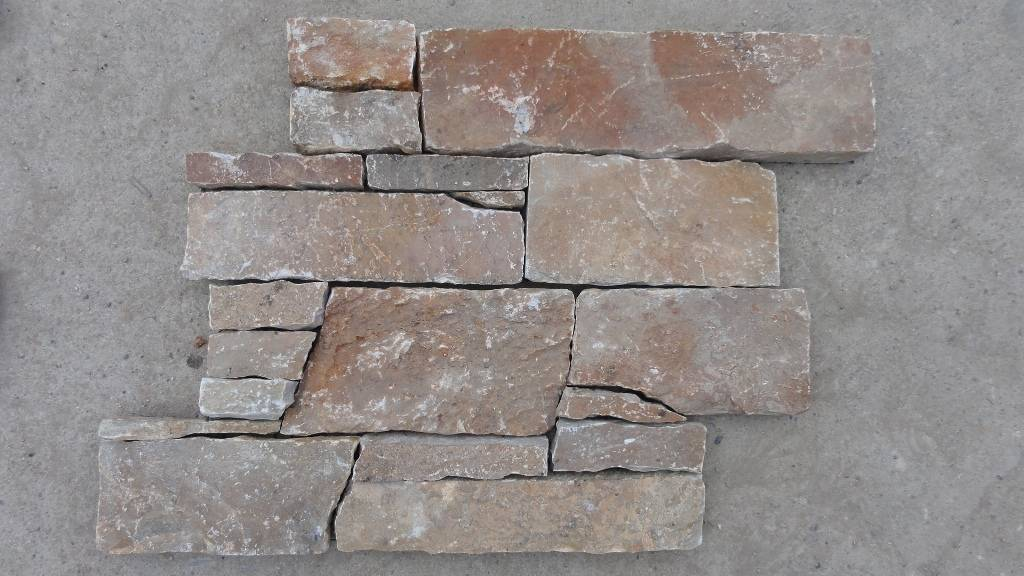 Back-mesh quartzite panel ZFW014F