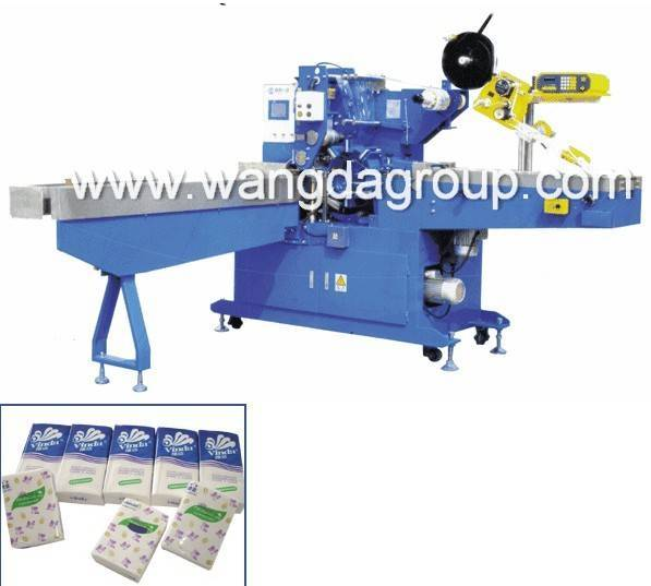WD-SPZ-XB200 Full Automatic Handkerchief Packing Machine