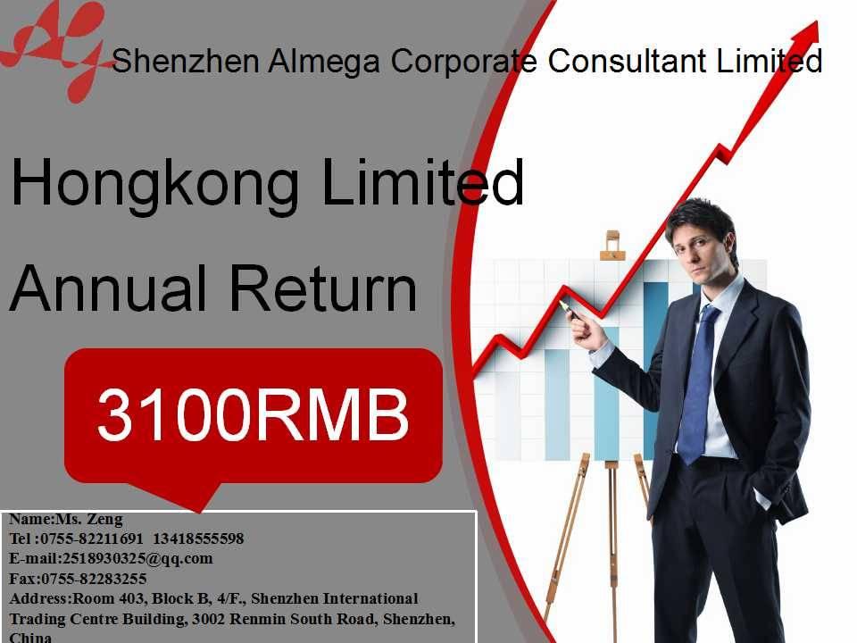 Annual Return for Hongkong Corporates