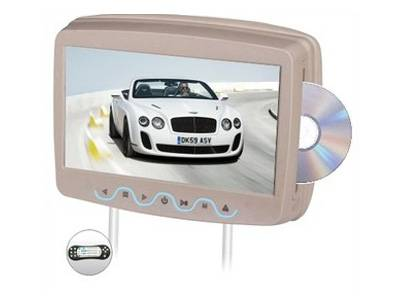 car headrest DVD player JR-108