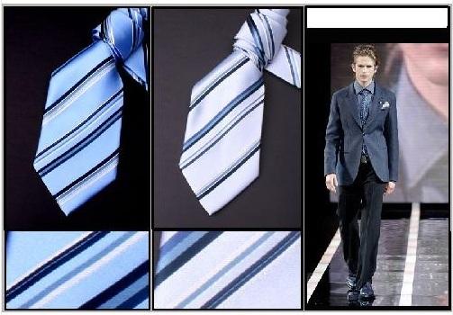 Poly woven Micro ties