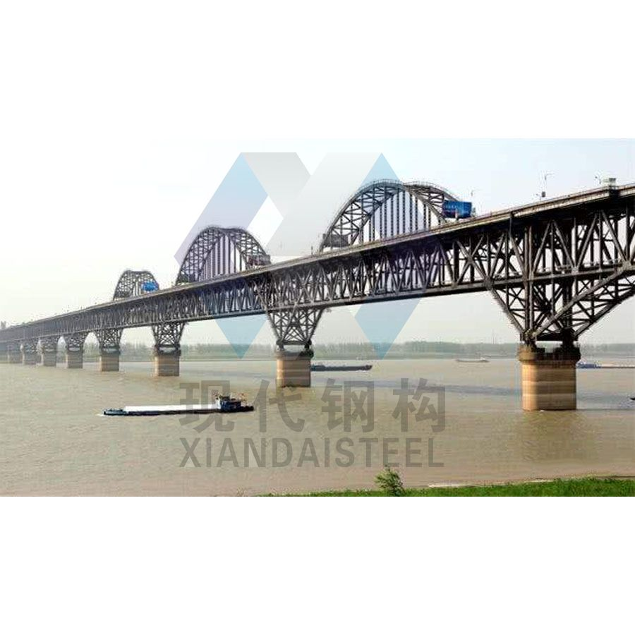 Prefab Space Frame Steel Structure Jiujiang Bridges