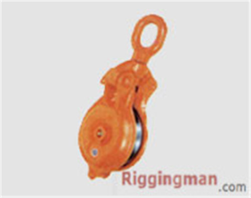 Rigging Hardware SNATCH BLOCK MODEL YBO,SINGLE WHEEL