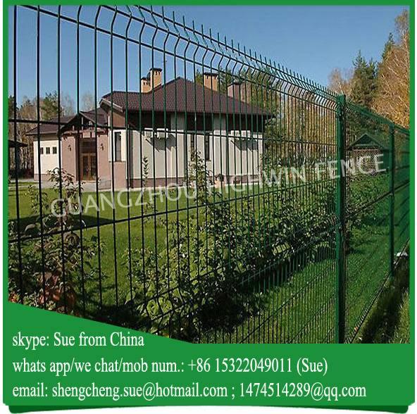 Guangzhou Factory lightweight square wire mesh garden fencing