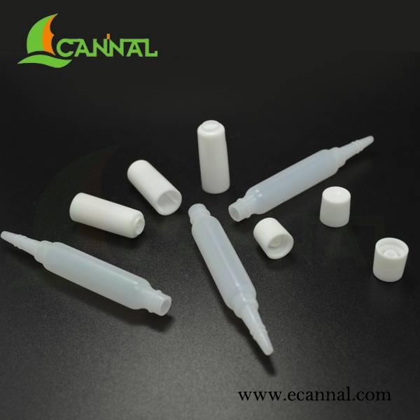 Ecannal white Plug Lid Long dropper 2ml bottles