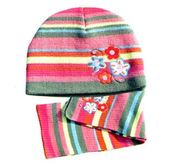 girl winter knitted hat