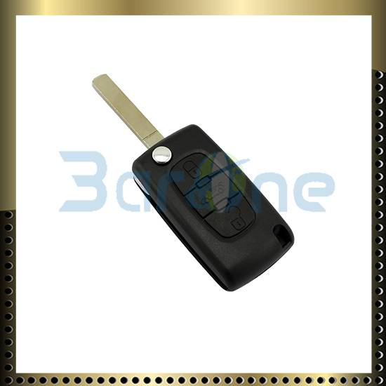 3 button car key shell for Peugeot