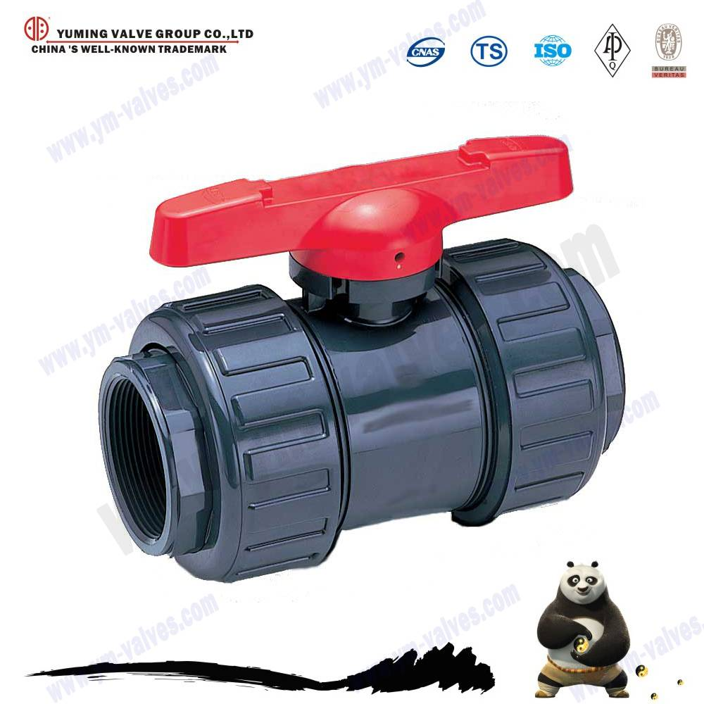 high quality true union PVC ball valve