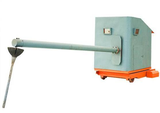 Slag Dart Application Equipment used in stell making process