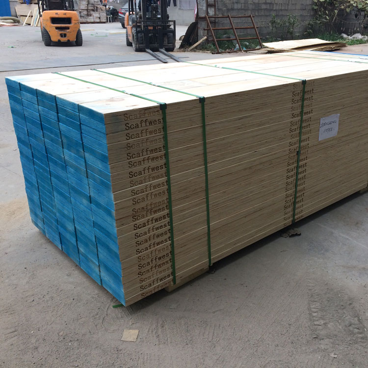 poplar/pine lvl scaffolding plank at factory price