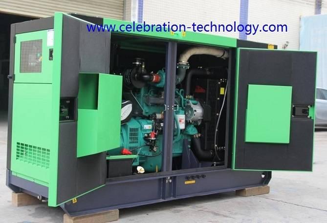 600KVA Silent Diesel Generator
