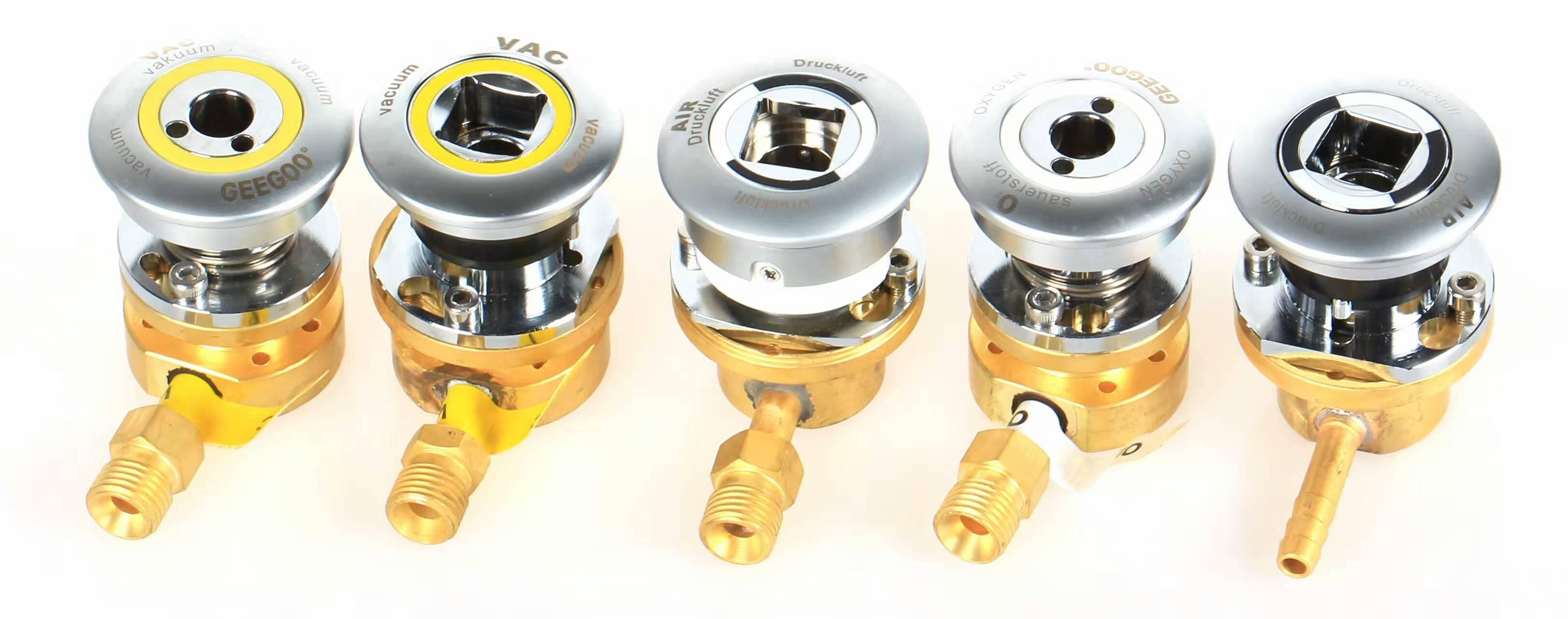 Genman DIN standard medical gas outlet