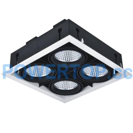 80W LED 4-Pot Square Grille Lamps. 20W,40W,60W available
