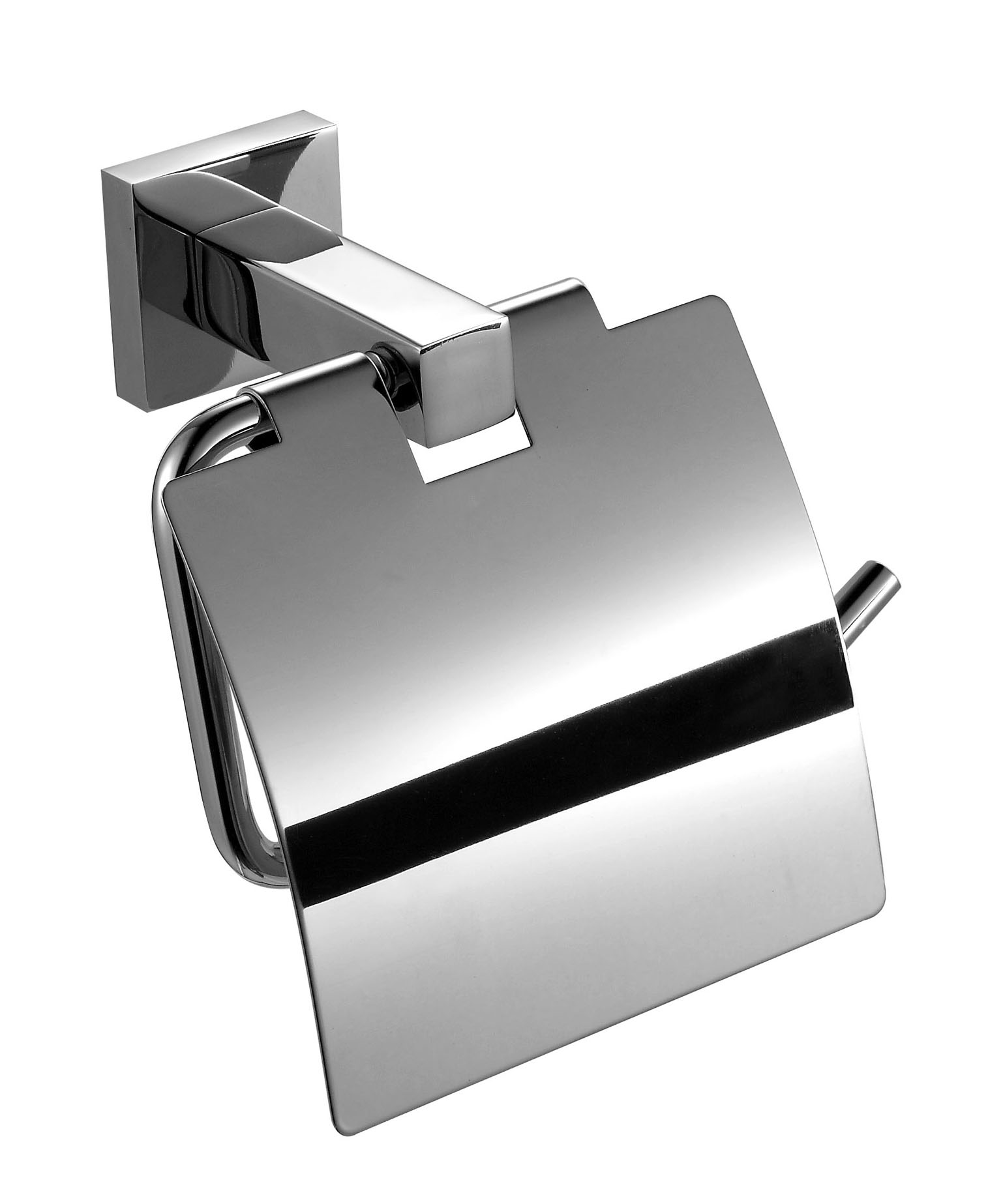 Polished Finish Tissue holder,Toilet Paper Holder with Waterproof Cover,Bathroom Accessories