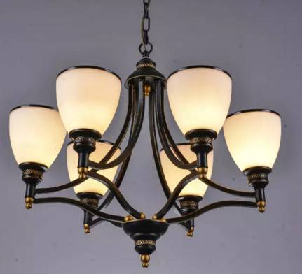 Indoor pendant lamp wall lamp with American style